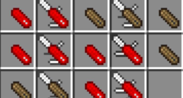 不同种类的瑞士军刀