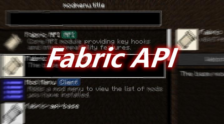 Fabric API Mod