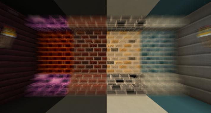 模组中添加的花色砖