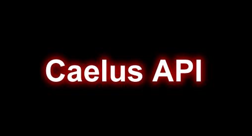 Caelus API