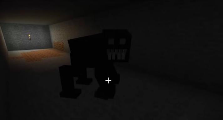 隐藏在黑暗中的格鲁怪物